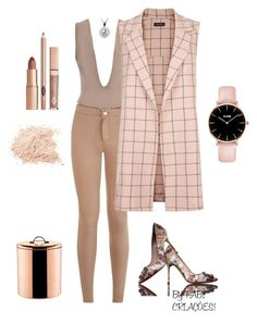 """""""LOOK DO DIA!!"""" by fabipcandido ❤ liked on Polyvore featuring Manolo Blahnik, Old Dutch and BERRICLE"""