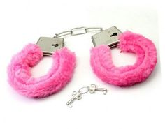 Fluffy Pink Handcuffs  http://www.hensnightshop.com.au/pink-handcuffs.html