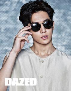 Nam Joo Hyuk for Dazed & Confused Korea February 2016. Photographed by Kim Yeong Jun