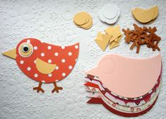 10 large Patterned & Plain Love bird die cuts for valentines cards/toppers cardmaking scrapbooking on Etsy, £3.25