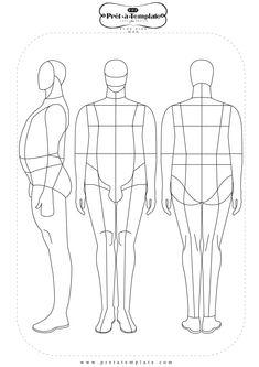 #PlusSize #menscroqui #fashionsketch http://pretatemplate.com/download-templates/