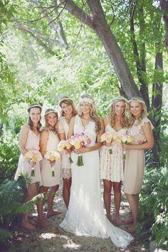 50 Chic Bohemian Bridesmaid Dresses Ideas   Pinterest   Boho ...