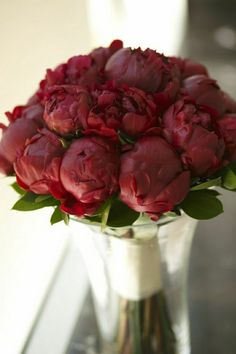 small bouquet red peonies - Google Search