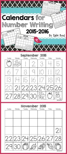 Student made calendars are a great way to practice number writing, counting, patterns and more. Differentiated to meet the needs of all your students.  This set includes lots of ideas for seasonal art projects too. This perpetual version will include a new download each year for many years to come. It's a must have for any kindergarten classroom. Happy teaching! $