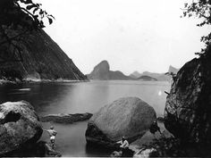 Marc Ferrez (Brazil) Moreninha Stone, Paqueta Island, Rio de Janiero c. 1885 That will be part of the FotoFest special exhibition of rare historic images from Latin America for the Houston Fine Art Fair Sept 14-16.  For more visit  http://fotofest.org/exhibitions/hfaf2012/