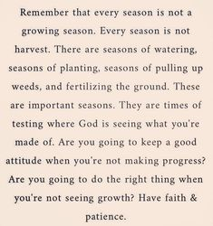 Seasons of Life. Positive Vibes, Positive Quotes, Motivational Quotes, Inspirational Quotes, Faith Quotes, Life Quotes, Favorite Quotes, Best Quotes, Seasons Of Life