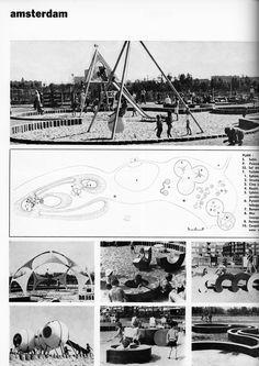 Rembrandt Park, Amsterdam, 1970: l'architecture d'aujourd'hui, 1971
