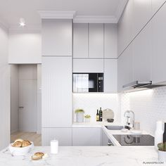 Interior design trends to keep up with, the best for your home decor! Kitchen Room Design, Home Decor Kitchen, Kitchen Interior, Interior Design Living Room, Home Kitchens, Townhouse Interior, Small Apartment Interior, Apartment Kitchen, Küchen Design
