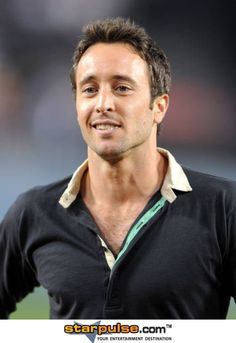 Alex O'Loughlin, I'm not sure what it is about him but I find myself checking him out every time I see a picture of him.