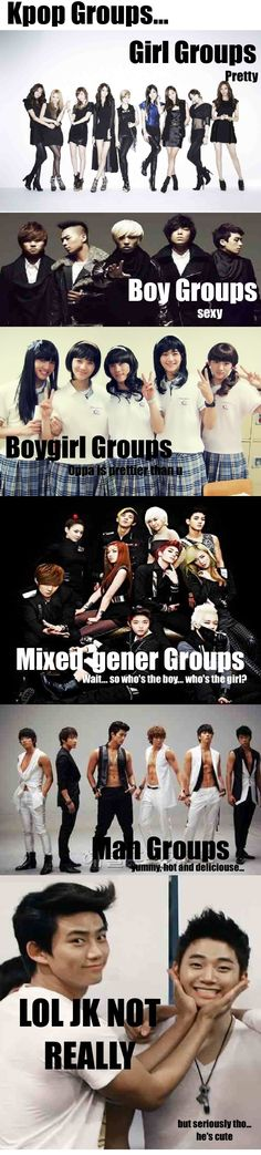 Kpop groups... #funny #kpop #macro