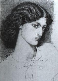 Jane Morris by Dante Gabriele Rossetti