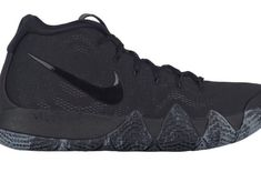 08eb2d3fa327 Release Date  Nike Kyrie 4 Triple Black To contrast the upcoming Nike Kyrie  4 Red