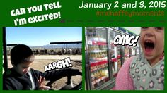 CAN YOU TELL I'M EXCITED! | Weekend Vlog JANUARY 2 & 3, 2015