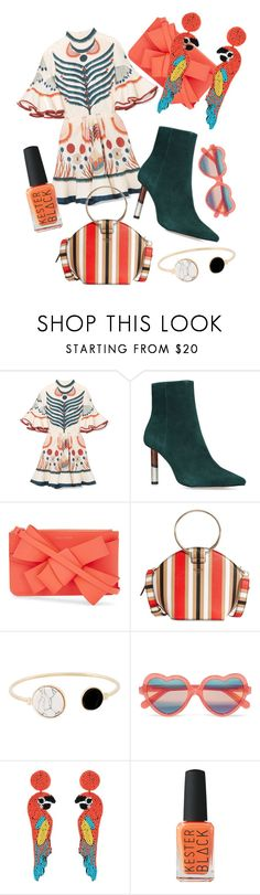 """Travel"" by kklotz2 on Polyvore featuring Chloé, Delpozo, GUESS, Cutler and Gross and Kenneth Jay Lane"