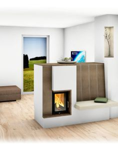 Herd, Fireplaces, Bungalow, Stove, Home Decor, Wood Burning Fireplaces, Yard Landscaping, Stoves, Trendy Tree
