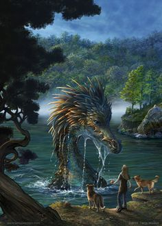 Who else wants to go on a walk and search for dragons?