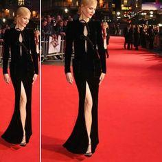 """#GerryStyle Nicole Kidman con look de Armani Prive en la presentación de la película """"Lion"""" en London Film. #Armani #ArmaniPrive #NicoleKidman"""