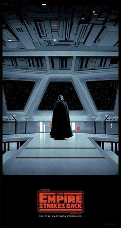Movie Poster Movement — Star Wars Trilogy by Matt Ferguson