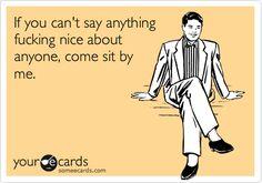 sit by me
