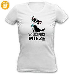 Lustige Sprüche Fun Wiesn Girlie-Shirt - Volksfest Mieze - fürs Oktoberfest (*Partner-Link)