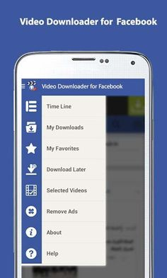 Video Downloader for Facebook v1.24 [Unlocked]   Video Downloader for Facebook v1.24 [Unlocked]Requirements:4.0Overview:Video Downloader for Facebook Application allows you to download videos from you facebook then you can play them offline.  You should login to your facebook account using our app and browse your pages normally. Once you like a video and wanted to play it offline at future then Video Downloader for Facebook comes to help you in downloading and saving the video in your…