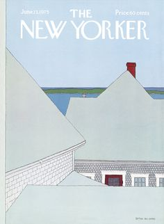 The New Yorker - Monday, June 23, 1975 - Issue # 2627 - Vol. 51 - N° 18 - Cover by : Gretchen Dow Simpson