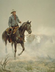 Cattle Call by Chuck DeHaan