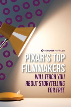 Filmmakers from Disney-owned animation studio Pixar will teach you the art of storytelling in a new free online course.