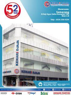Sahabat KENARI DJAJA Yang Berada Di Semarang, Dapatkan Segera Produk-Produk Berkualitas Hanya Di KENARI DJAJA.  Kami Ada Di : Jl. H. Agus Salim, Komplek THD Blok C/8 Telp : (024) 356 4254/55, Fax : (024) 356 4256 SEMARANG  Informasi Hub. : Ibu Tika 0812 8567 7070 ( WA / Telpon / SMS ) 0819 0506 7171 ( Telpon / SMS )  Email : digitalmarketing@kenaridjaja.co.id  [ K E N A R I D J A J A ] PELOPOR PERLENGKAPAN PINTU DAN JENDELA SEJAK TAHUN 1965