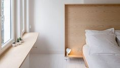 Plywood is becoming our latest obsession. From furniture to wall treatments, this material is for all of the modernists out there. See more on ruemag.com #ruedaily  from Atelier Dynamo