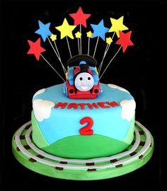 thomas the train cake - Google Search