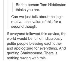Because Tom is an optimist, he would probably think about other people in a more positive than people think about themselves.