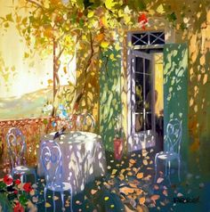 In the rays of the sun by Laurent Parcelier