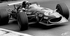 One of the most beautiful cars ever made Dan Gurney, Classic Race Cars, Gilles Villeneuve, Formula 1 Car, Vintage Race Car, F1 Racing, Indy Cars, Car And Driver, Grand Prix