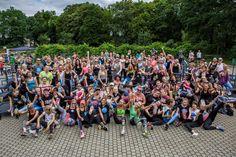 Tak wyglądał nasz maraton na 100 trampolin! :D