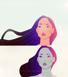 Pocahontas - she has always been my favorite disney princess :)