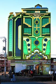 Freddy Mamani y el surgimiento de una nueva arquitectura andina en Bolivia