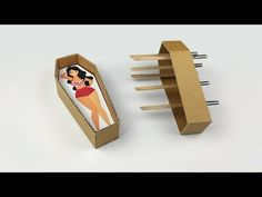 How to Make Fun Magic Coffin Cardboard Cardboard Crafts, Paper Crafts, Magic Tricks Illusions, Easy Magic Tricks, Worry Dolls, Card Tricks, The Magicians, Diy For Kids, Paper Dolls