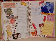 Smash book pink by Elektrapeke Mónika, via Flickr