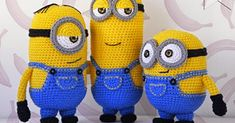 minyonlar yapımı Amigurumi Minion Model 7 Photos in the Drawer Photos taken on special occasions will disappear after a while in the dusty environment. Amigurumi Toys, Amigurumi Patterns, Crochet Patterns, Minions, Cute Crochet, Crochet Toys, Minion Pattern, Baby Album, Crochet Doll Clothes