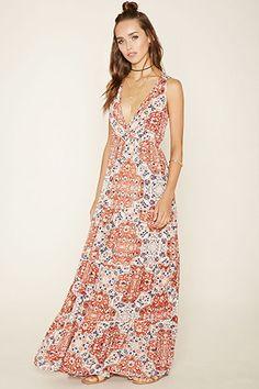 Raga Tiered Floral Maxi Dress