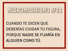 Micromachismo #18