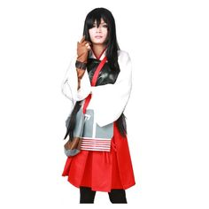 Fancy Women's Fleet Girls Akagi Cosplay Dress Outfits Suit Costume Large >>> Details can be found at
