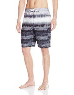 d7a3da32a5 Speedo Men's Tie Dye Stripe E-Board 21 Inch, Speedo Black Speedo Sun  Protection
