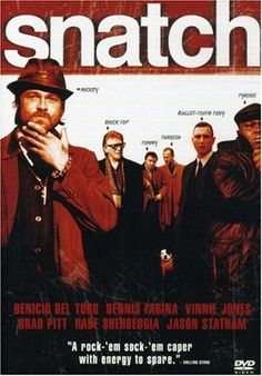 Amazon.com: Snatch (Widescreen Edition): Jason Statham, Brad Pitt, Benicio Del Toro, Dennis Farina, Vinnie Jones, Rade Serbedzija, Alan Ford, Mike Reid, Robbie Gee, Lennie James, Ewen Bremner, Jason Flemyng, Guy Ritchie, Angad Paul, Matthew Vaughn, Michael Dreyer, Peter Morton, Sebastian Pearson, Stephen Marks: Movies & TV