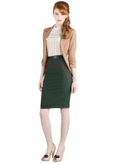 Winter Holiday Soiree Skirt, #ModCloth