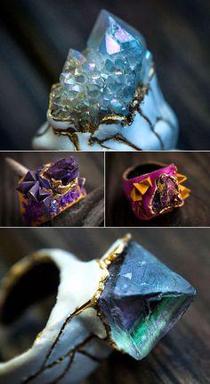Ellen Rococo - polymer and crystals