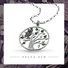 #JulieJulsen #TreeOfLife Der BaumdesLebens in seiner schönsten Form. Charms, Pendant Necklace, Form, Silver, Jewellery, Collection, Fashion, Tree Of Life, Gifts For Women