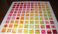 UpStairsHobbyRoom: #42 City Sampler 100 Blocks Complete