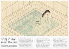Being in love eases the pain - Harrietleemerrion